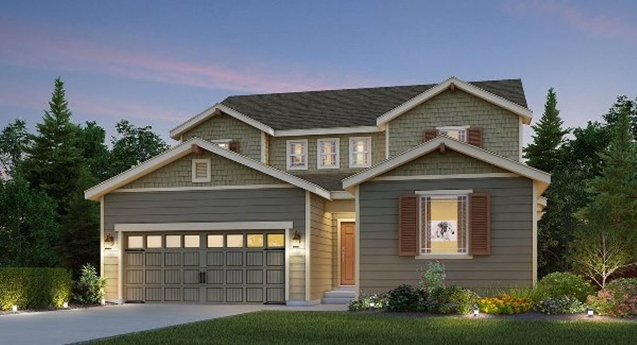 Lennar Bainbridge Elevation B
