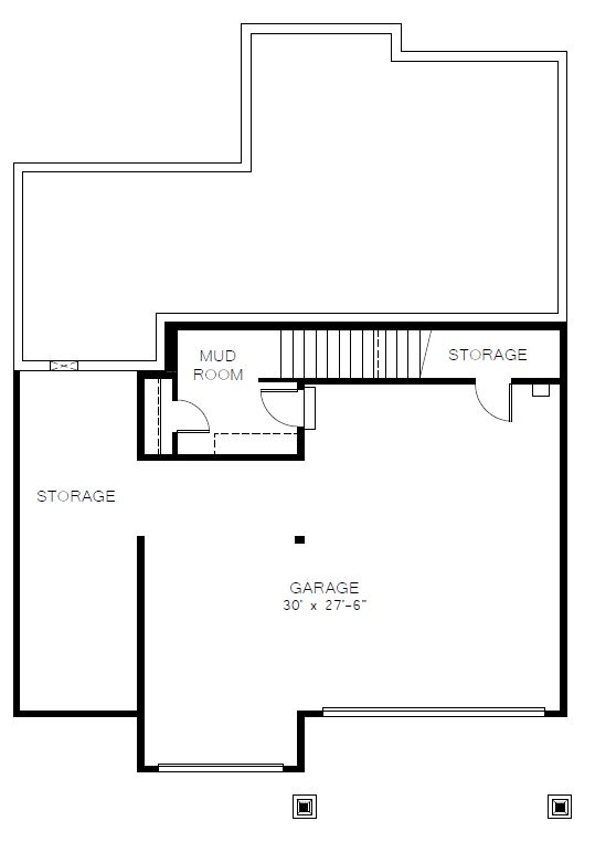 Azure Northwest Homes Silver Star Lower Floorplan