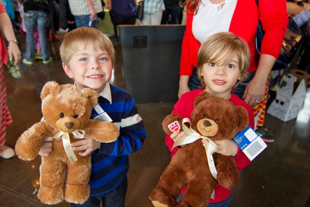 Residents gathered for a fun Tehaleh Build-A-Bear activity at The Post.