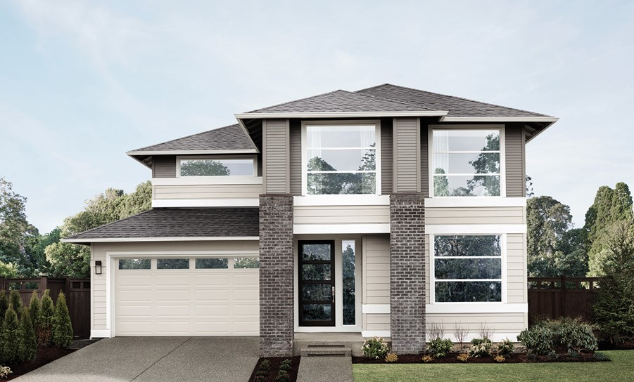 MainVue Homes Astoria Floor Plan Elevation A