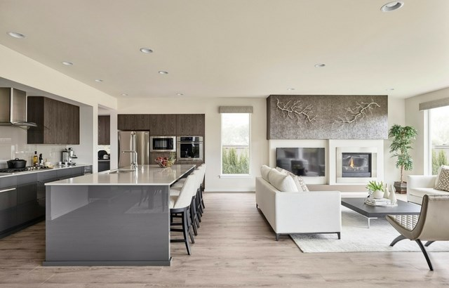 MainVue Homes Astoria Kitchen Floor Plan