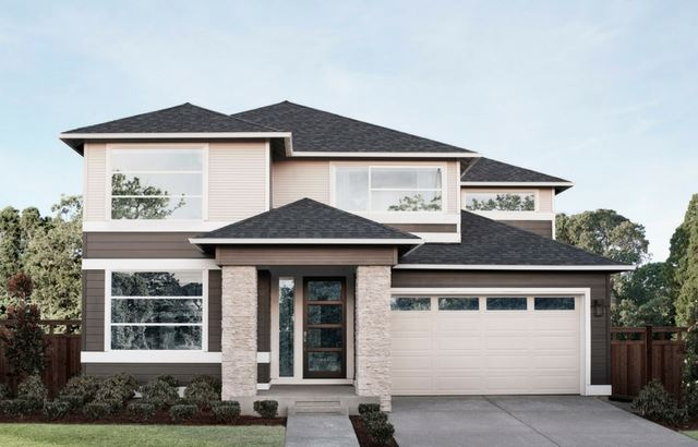 MainVue Homes Hudson Floor Plan Elevation A