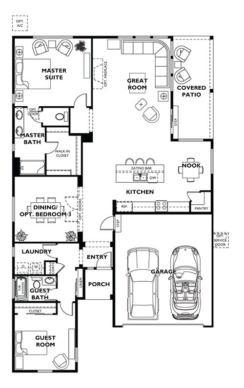 Trilogy Whidbey Floor Plan