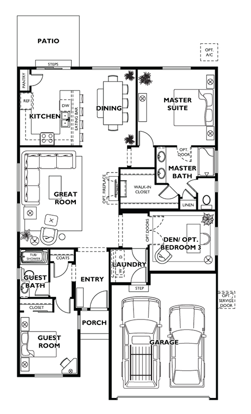 Trilogy Pebble Beach Floor Plan