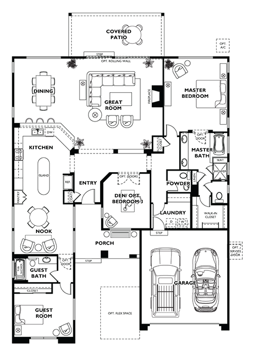 Trilogy Messina Floor Plan