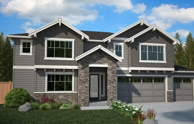 HC Homes Honey Oak Elevation A