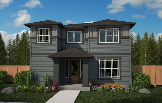 Azure Northwest Homes Barlow Point Elevation A