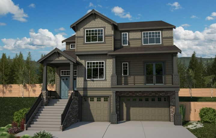 Azure Northwest Homes Silver Star Elevation A