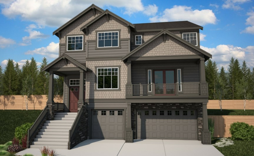 Azure Northwest Homes Tamarack Elevation A