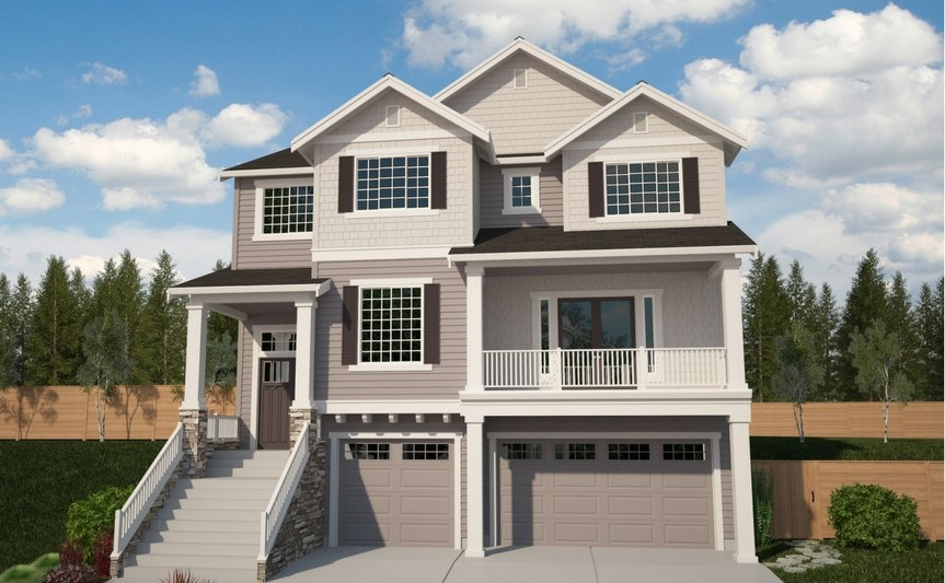 Azure Northwest Homes Tamarack Elevation B
