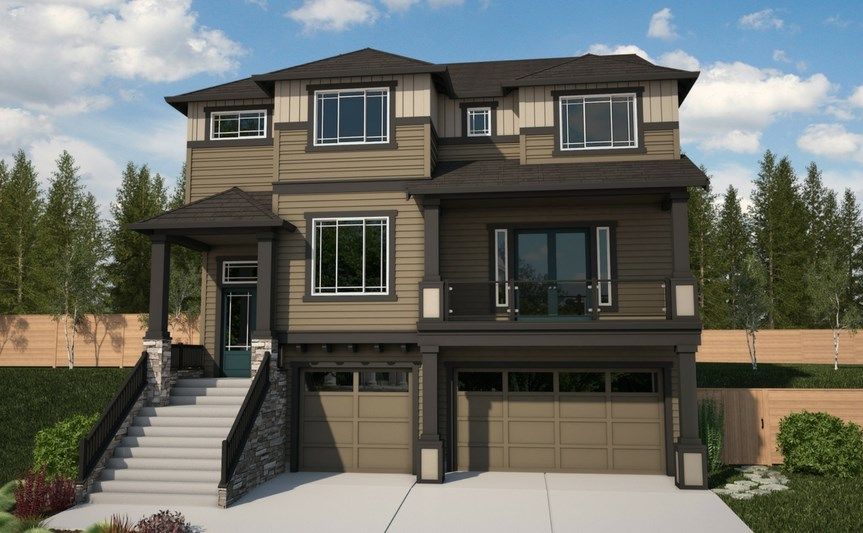 Azure Northwest Homes Tamarack Elevation C