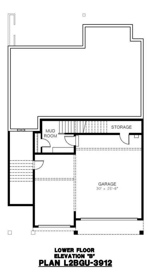 Azure Northwest Homes Tamarack Elevation A Lower Floor