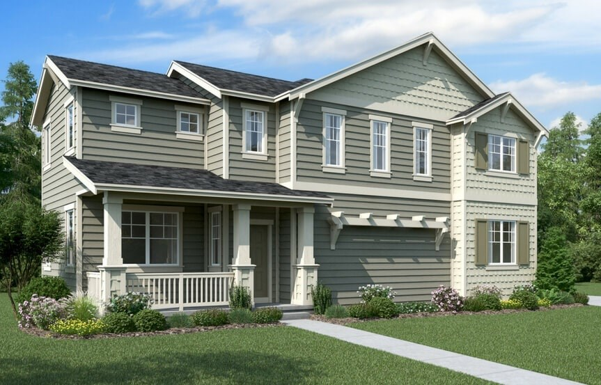 Lennar Bluebell Elevation A