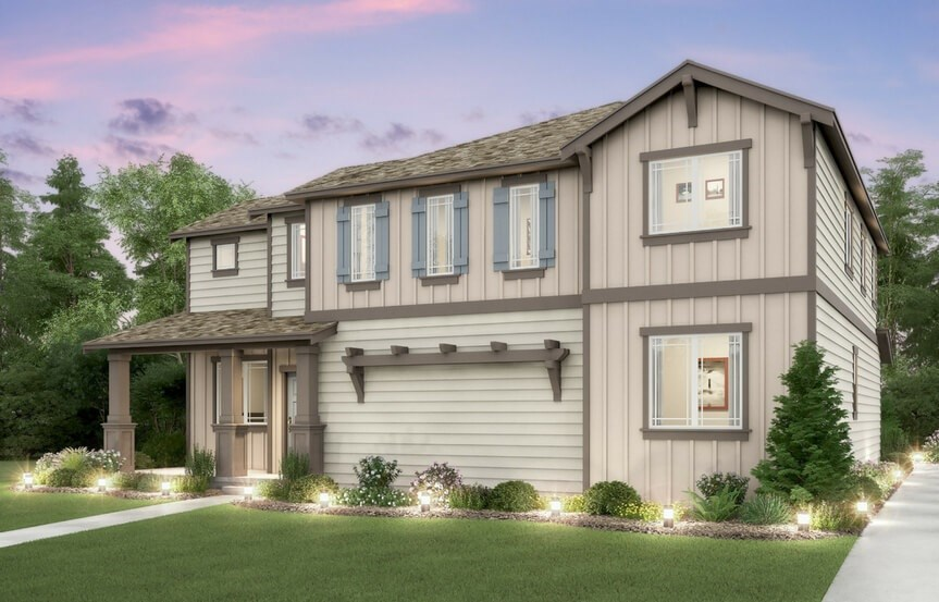 Lennar Bluebell Elevation B