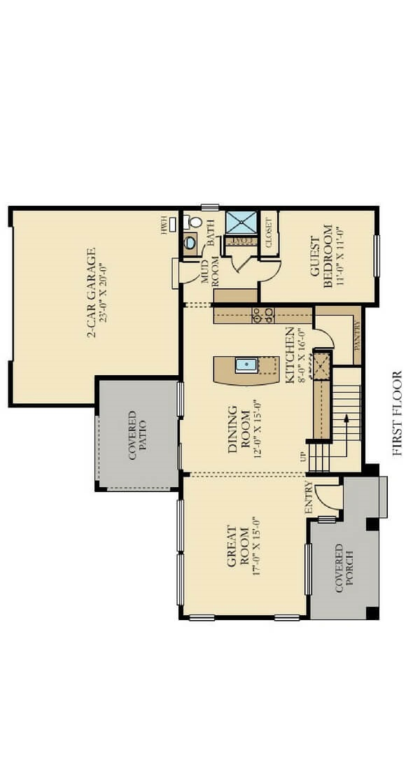 Lennar Bluebell Main Floorplans