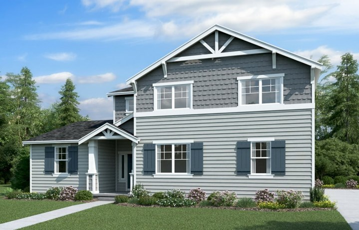 Lennar Huckleberry Elevation A