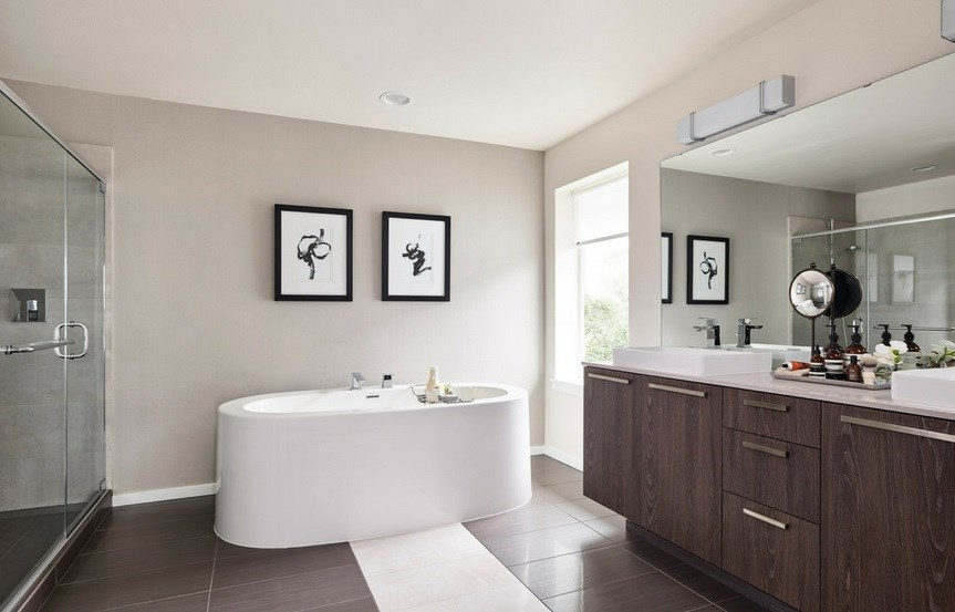 MainVue Homes Hampshire Master Bath