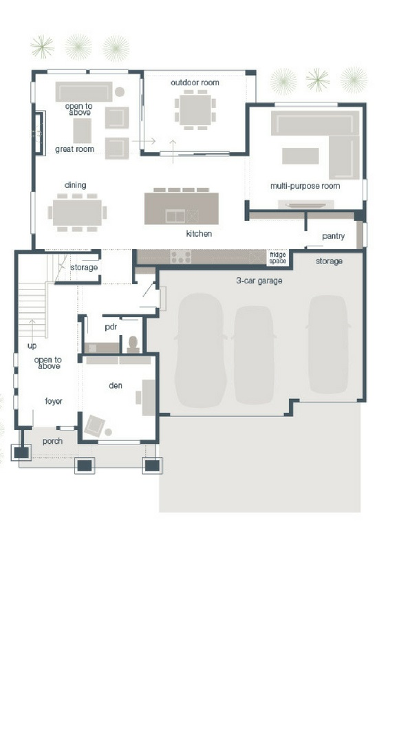 MainVue Hampshire Main Floor Plan