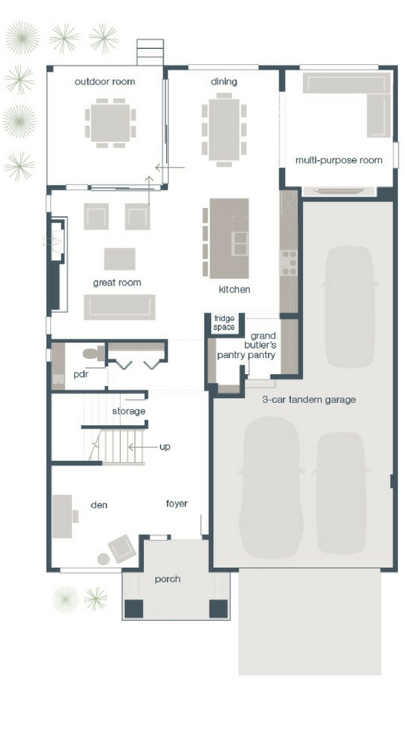 MainVue Vantage Main Floor Plans