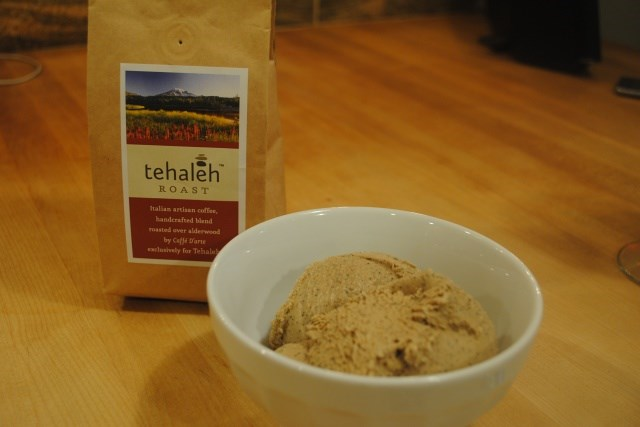 Try making this frozen dessert at home with a bag of Caffe D'arte Tehaleh Roast.
