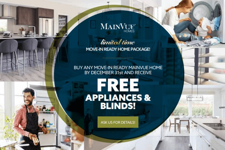 MainVue Homes Fall Package