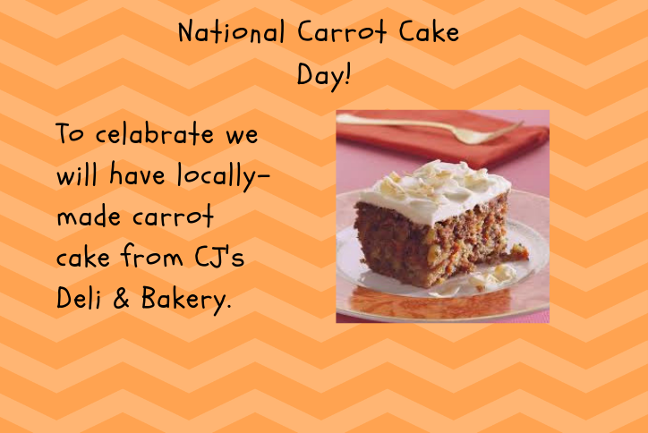 Carrot cake from CJ's Deli and Bakery at Tehaleh.
