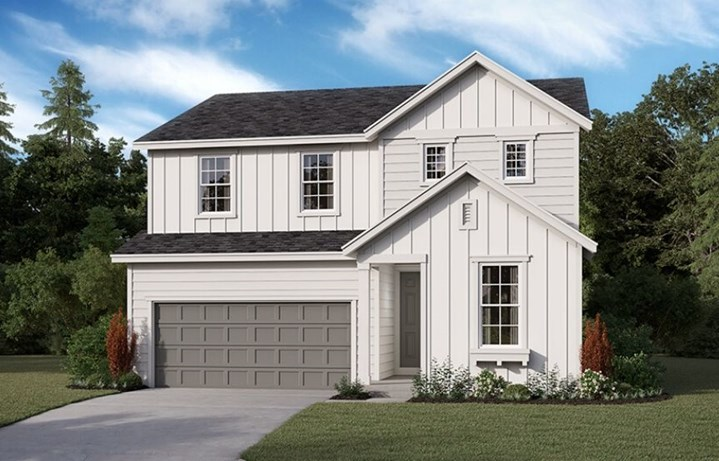Richmond American Homes Pearl Model, elevation P