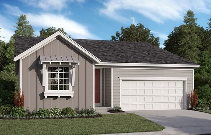 Richard American Homes, Alexandrite Model, Elevation P