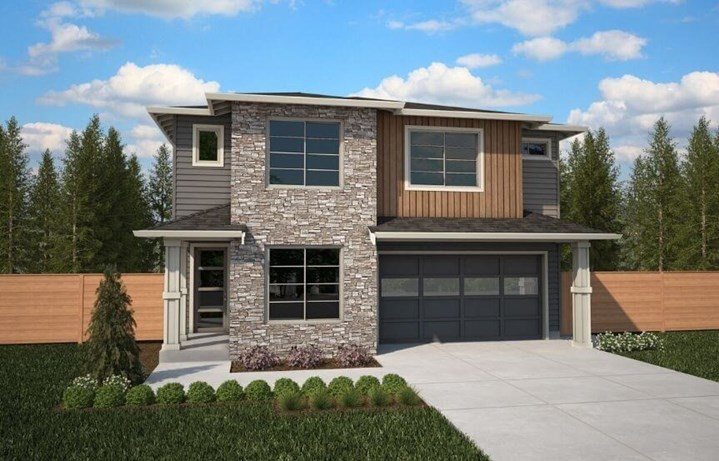 Brookstone Homes Acacia Model Elevation B