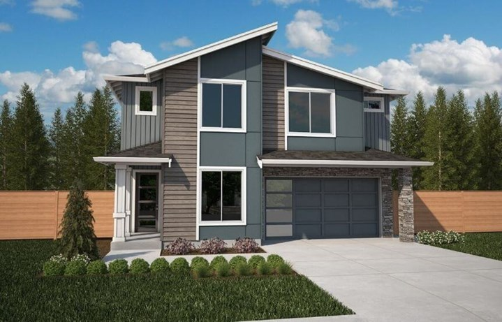 Brookstone Homes Acacia Model Elevation C