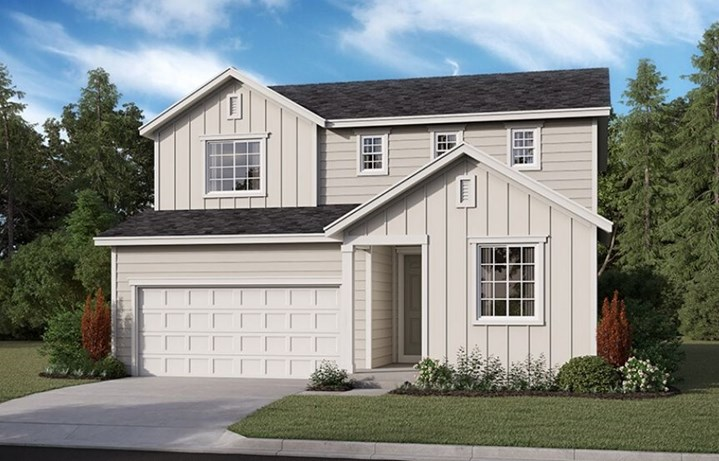 Richmond American Homes, Citrine Model, Elevation P