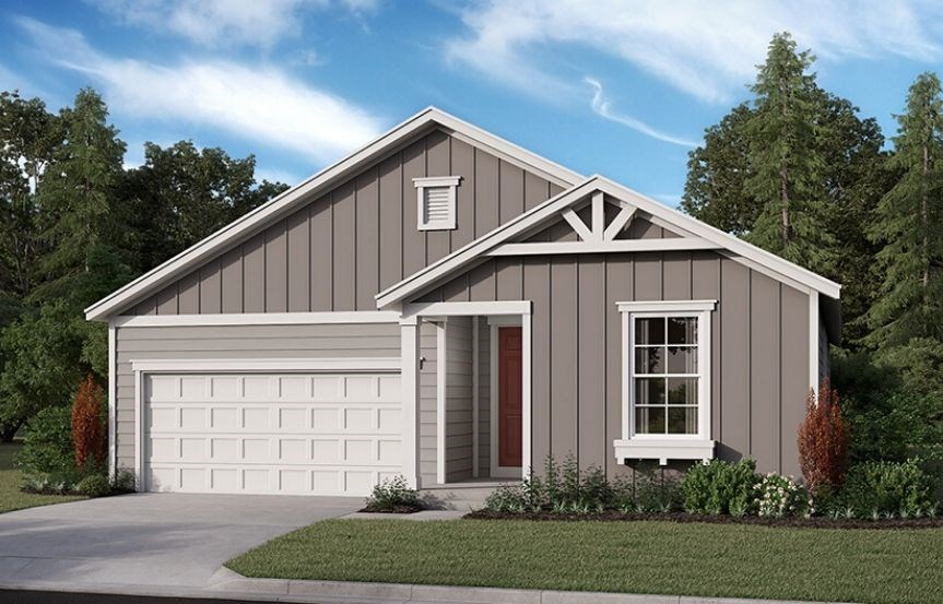 Richmond American Homes, Onyx Model, Elevation P