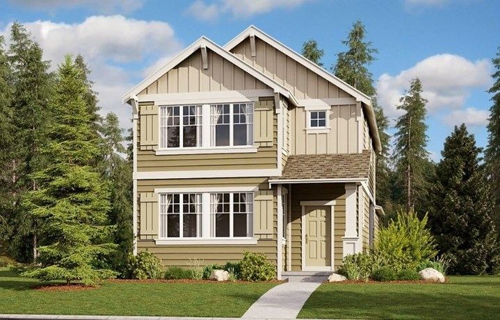 Lennar Homes, Briarwood model, elevation A
