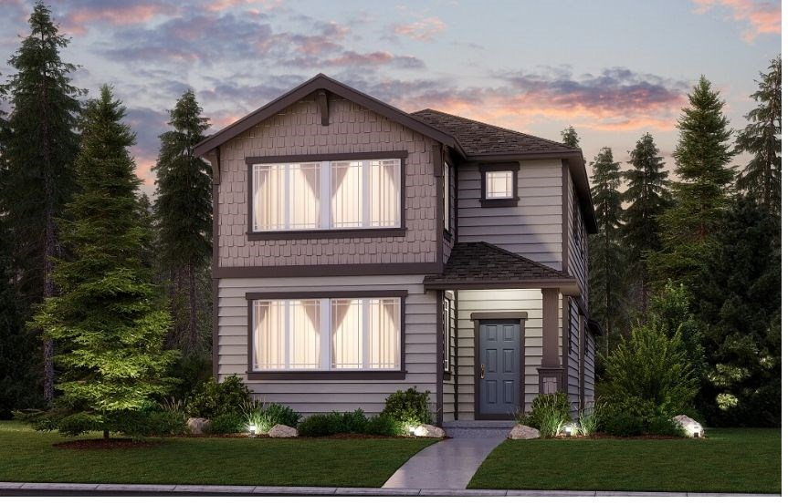 Lennar Homes, Briarwood Model, Elevation B
