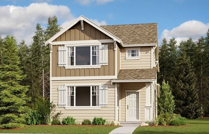 Lennar Homes, Goldenwood Model, Elevation A