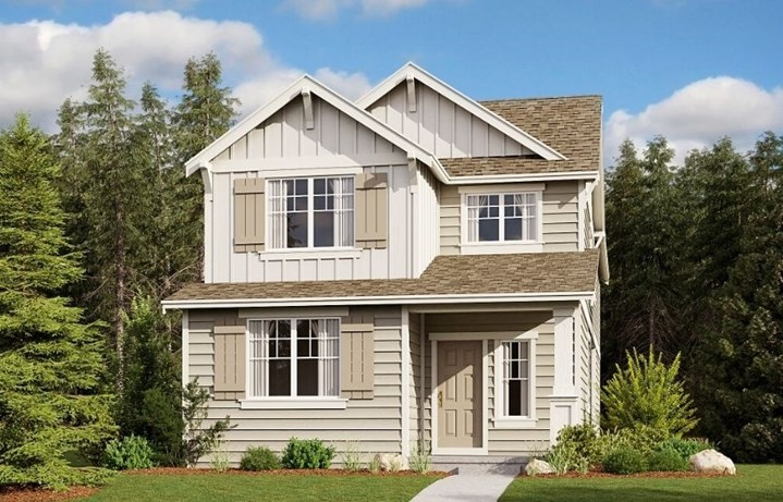 Lennar Homes, Hazelwood Model, Elevation A