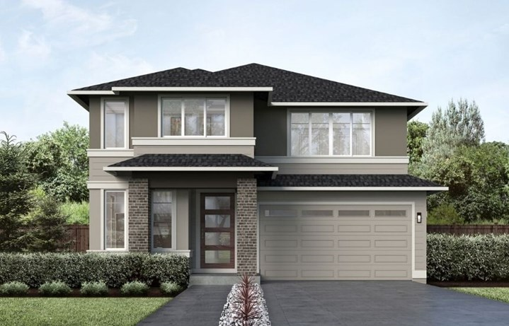 MainVue Homes Rendering of the Marion Plan