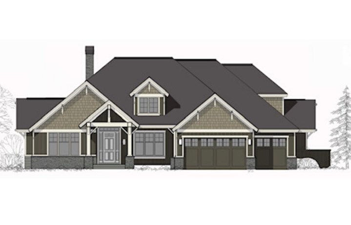 Mill Valley Rambler rendering by Noffke Homes