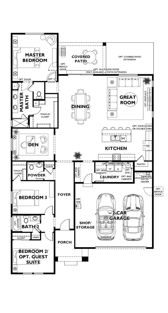 floor plans for the Trilogy at Tehaleh Discover model