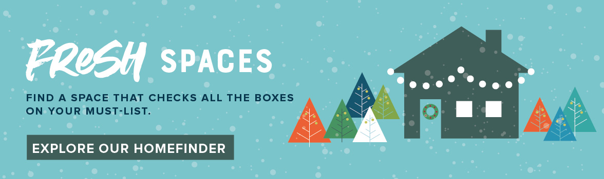 Fresh spaces to explore over the holidays in Tehaleh near Bonney Lake.